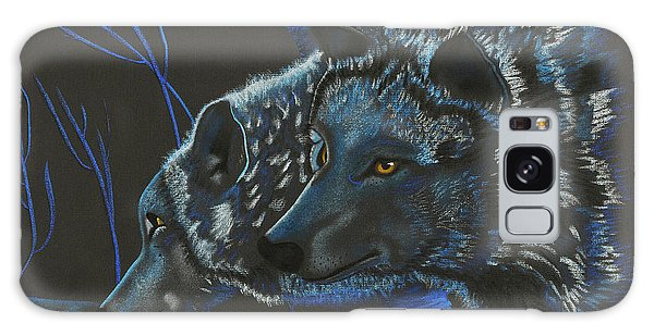 Blue Wolves Galaxy Case