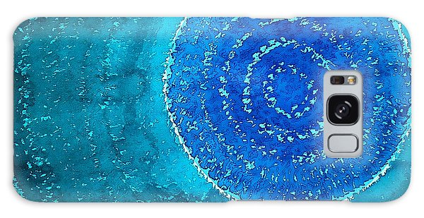 Blue World Original Painting Galaxy Case