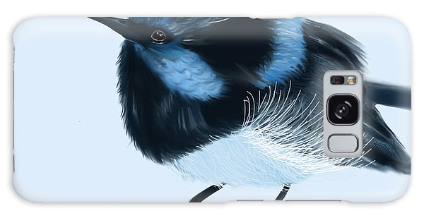 Blue Wren Beauty Galaxy Case