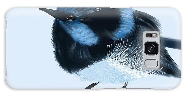Blue Wren Beauty Galaxy Case
