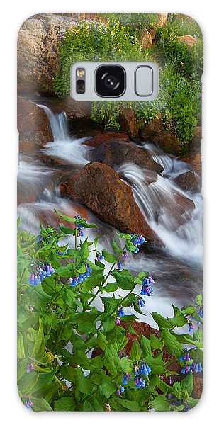 Indian Peaks Wilderness Galaxy Case - Bluebell Creek by Darren  White