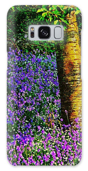 Bluebell Wood Galaxy Case