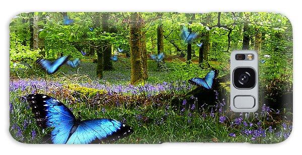 Bluebell Wood Galaxy Case