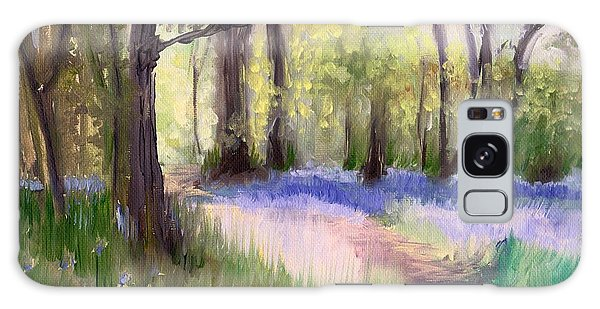Bluebells At Dusk Galaxy Case