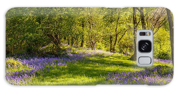 Bluebell Galaxy Case - Bluebells by Amanda Elwell