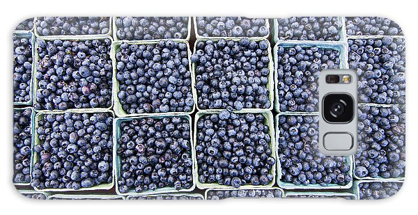 Galaxy Case - Blueberries by Patty Colabuono