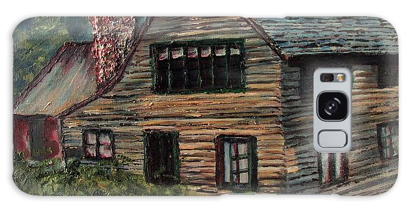 Blueberry Cottage At Twin Lake Village Galaxy Case by Denny Morreale