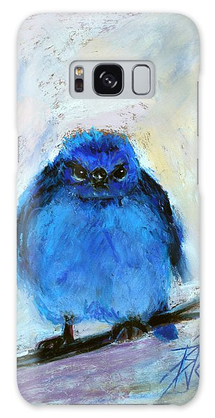 Bluebird Of Unhappiness Galaxy Case by Billie Colson