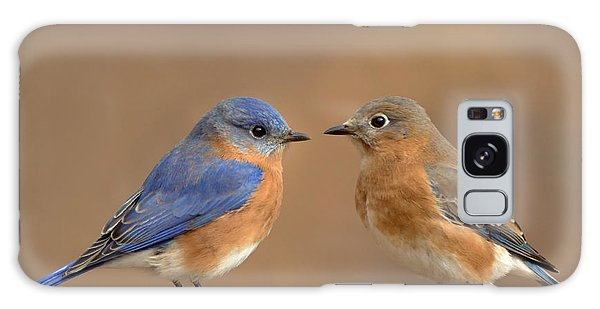 Bluebird Pair Galaxy Case
