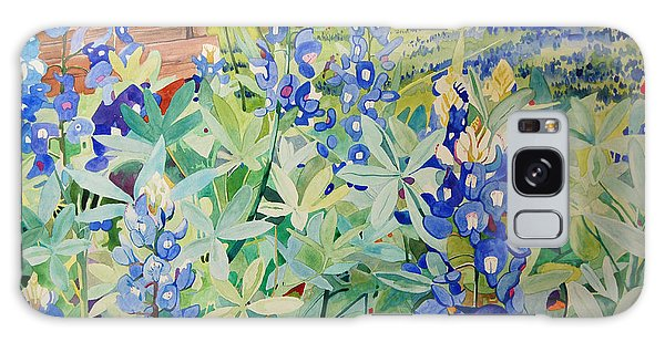 Bluebonnet Beauties Galaxy Case