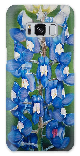 Bluebonnet Buffalo Clover Galaxy Case