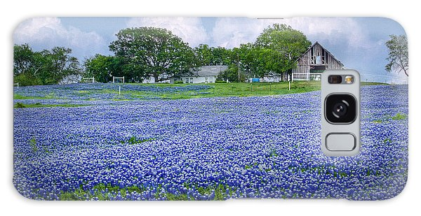 Bluebonnet Farm Galaxy Case by David and Carol Kelly