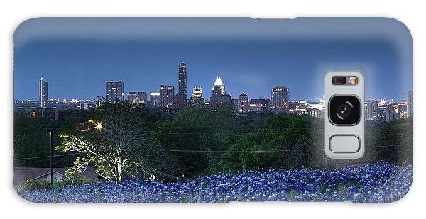 Bluebonnet Twilight Galaxy Case by Dave Files