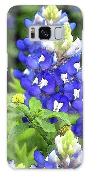 Bluebonnets Blooming Galaxy Case
