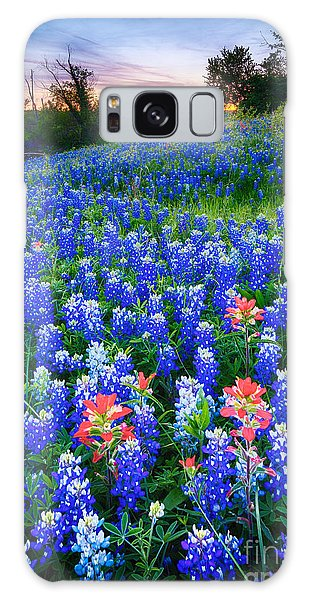 Expanse Galaxy Case - Bluebonnets Forever by Inge Johnsson