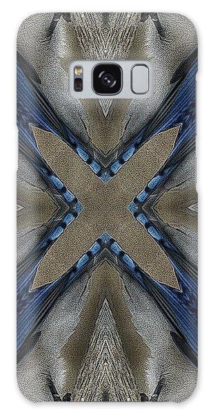 Bluejay Feathers Galaxy Case