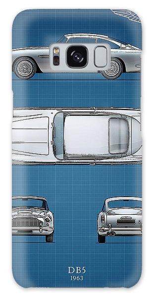 Martin Galaxy Case - Blueprint Aston Martin Db5 by Mark Rogan