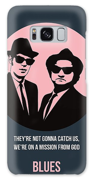 Brothers Galaxy Case - Blues Brothers Poster 1 by Naxart Studio