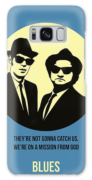 Brothers Galaxy Case - Blues Brothers Poster 3 by Naxart Studio