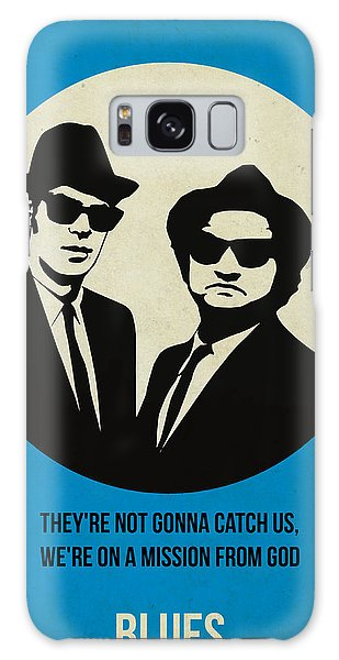 Brothers Galaxy Case - Blues Brothers Poster by Naxart Studio