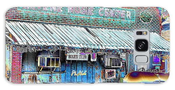 Blues Club In Clarksdale Galaxy Case