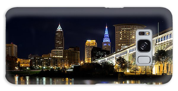 Blues In Cleveland Ohio Galaxy Case
