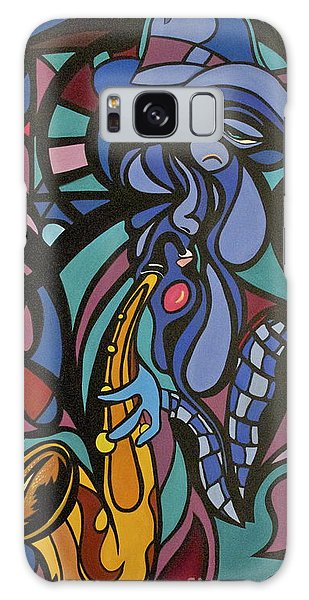 Blues Man Galaxy Case