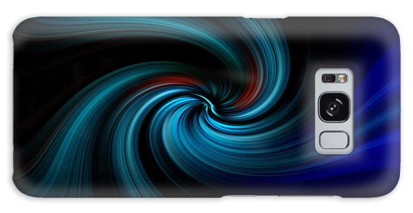 Blues Swirl Galaxy Case