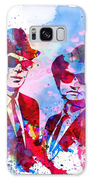 Brothers Galaxy Case - Blues Watercolor by Naxart Studio
