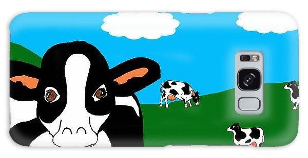 Bluesky Cows Galaxy Case