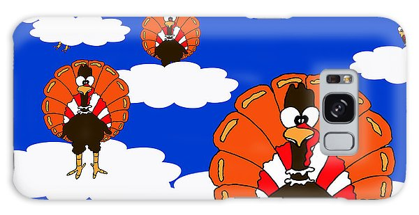 Bluesky Turkeys Galaxy Case