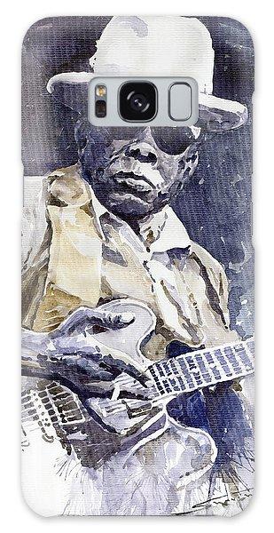 Portret Galaxy Case - Bluesman John Lee Hooker 3 by Yuriy Shevchuk