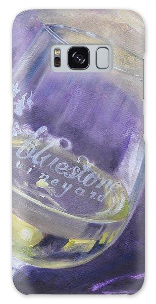 Bluestone Vineyard Wineglass Galaxy Case