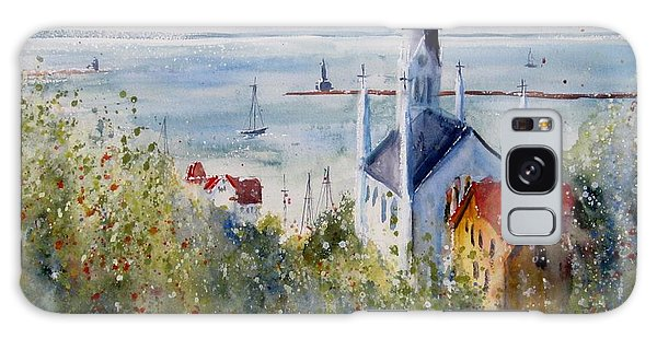 Bluff View St. Annes Mackinac Island Galaxy Case