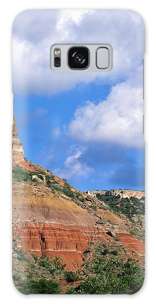 Bluffs In The Glass Mountains Galaxy Case