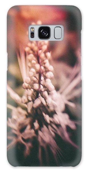 Blured Bloom Galaxy Case