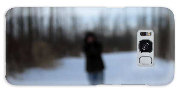 Blurred To Distraction Galaxy Case by Kimberly Mackowski