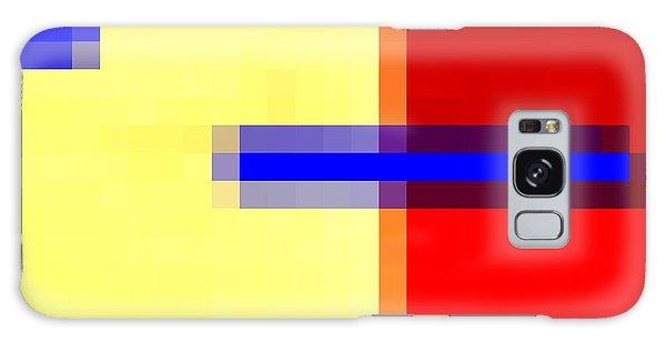 Blurred Vision Galaxy Case by Carolyn Repka