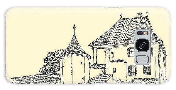 Rural Galaxy S8 Case - Blutenburg Castle Near Munich, Bavaria by Babayuka