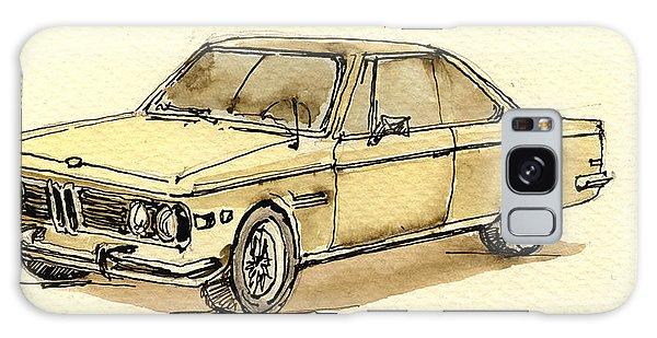 Sport Car Galaxy Case - Bmw 3 Cs Coupe by Juan  Bosco