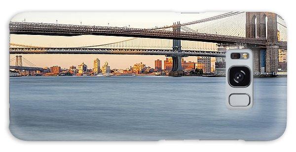 Bmw New York City Bridges Galaxy Case by Susan Candelario