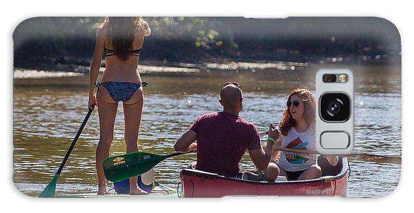 Board And Canoe In Vermillionville Boat Parade Galaxy Case