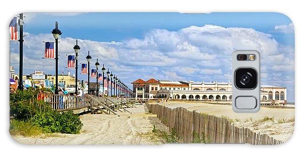 Boardwalk And Music Pier Galaxy Case