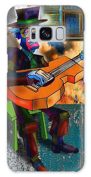 Boardwalk Bard Galaxy Case