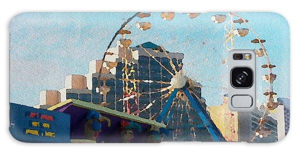 Boardwalk Ferris  Galaxy Case by Alice Gipson