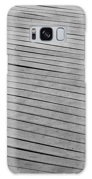 Galaxy Case featuring the photograph Boardwalk by Kristen Fox