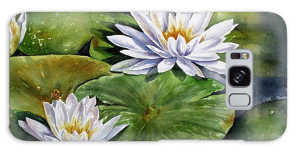 Boardwalk Lilies Galaxy Case