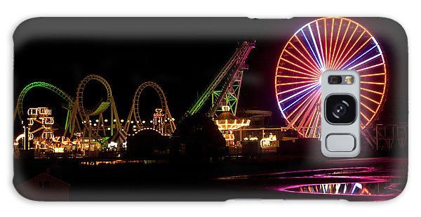 Boardwalk Night Galaxy Case by Greg Graham