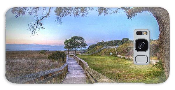 Boardwalk To History Galaxy Case by Phil Mancuso