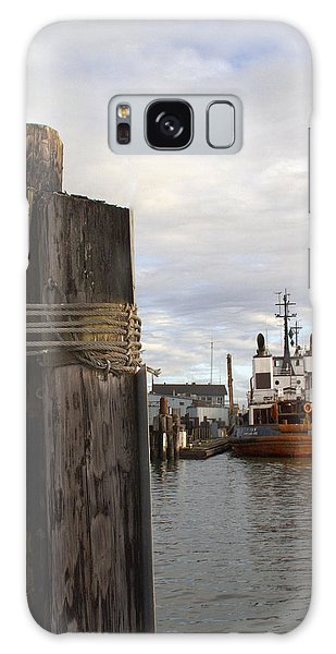 View From The Pilings Galaxy Case by Suzy Piatt